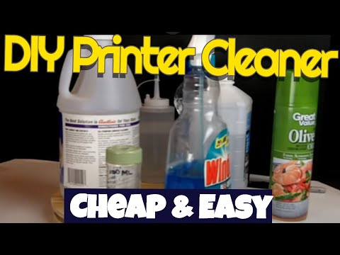 DIY Inkjet print head cleaner,simple,cheap,effective