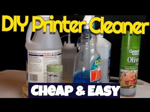 DIY Inkjet print head cleaner,simple,cheap,effective