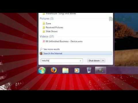 Windows 7: Add Web Search to The Start Menu - Tekzilla ...
