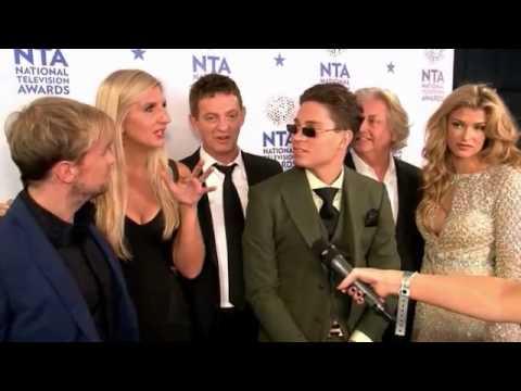 Backstage at the NTAs: I'm A Celebrity cast