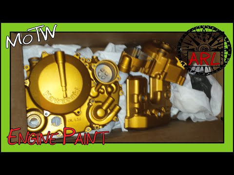 How to Paint a Motorcycle Engine with Spray Cans