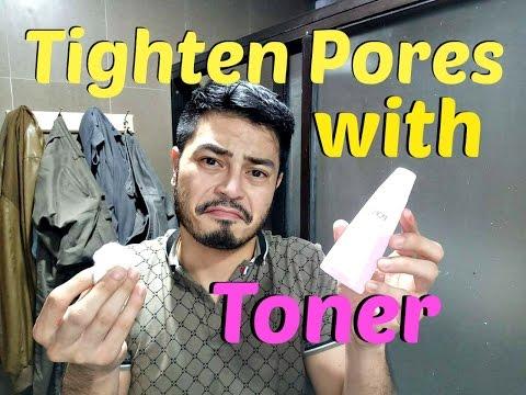 Facial Toner for Men | Men's Vanity | Tightening Your Pores