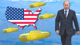 Россия может разместить Посейдоны вокруг США  в ответ на блокировку Северного Потока 2
