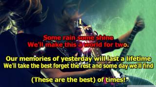 The Best Of Times - Styx (Karaoke) HD