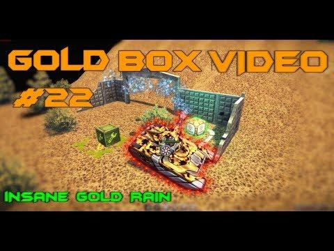 Tanki Online - Gold Box Video #22 | Insane 150 GOLD RAIN!