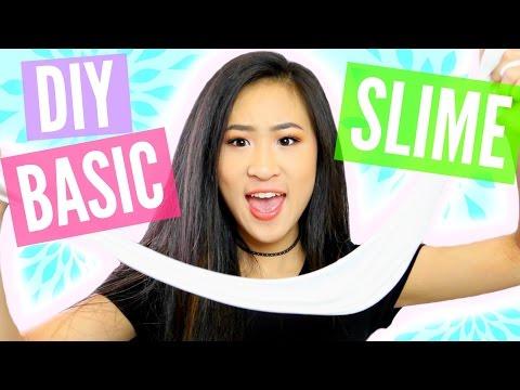 DIY EASY BASIC SLIME TUTORIAL | Slime for Beginners | Angelynn