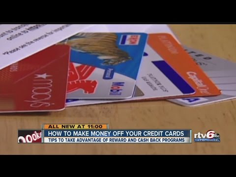How to make money off your credit cards