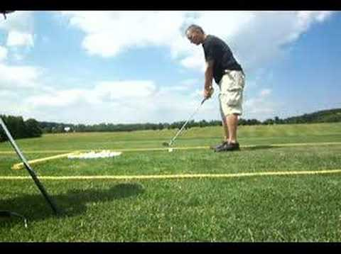 Left Handed Draw Swing, Golf