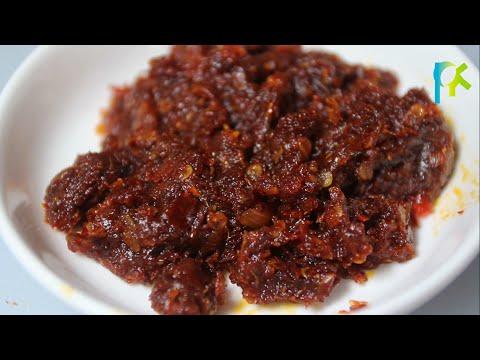 Resep Sambal Bawang Goreng (how to make fried onion sauce)