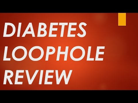 The Diabetes Loophole Review | IN DEPTH Pros And Cons for Diabetes Loophole PDF | Reed Wilson