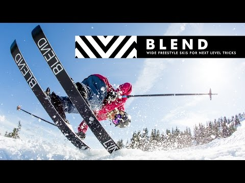 The 2017 LINE Blend Skis - The Fun, Flexy and Wide Freestyle Ski for Everything