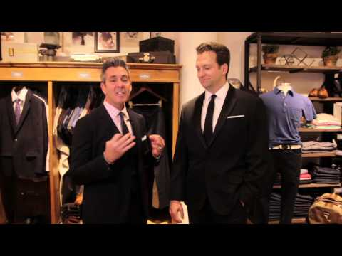What Is the Proper Men's Attire for an Evening Wedding at a Hotel? : Wedding Fashion for Men