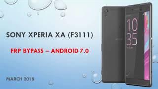 Sony Xperia Xa Bypass Google Account ✅ 7 0 ✅ Trick 2018
