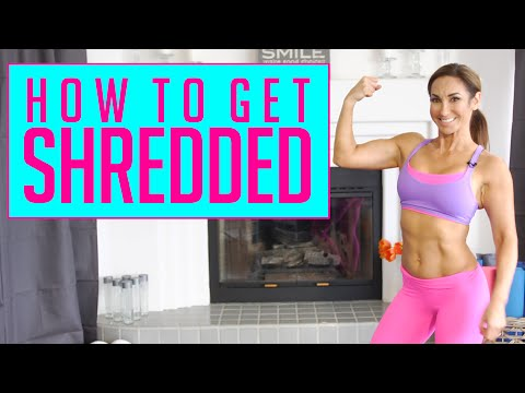 How To Get Shredded and Lean | Natalie Jill
