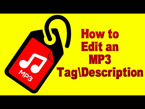 How to Edit an MP3 Tag\Description