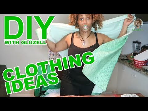 DIY with GloZell - Clothing Ideas