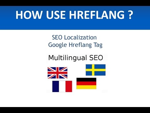 How to use hreflang in meta tags to create a bilingual or multilingual website