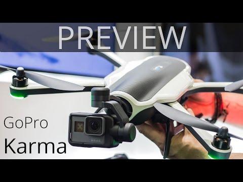 GoPro Karma Drone Hands-On | TechCentury