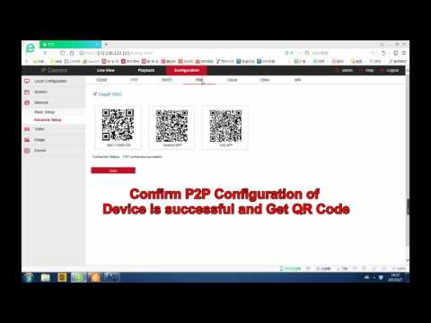 Cantonk Standalone Wifi IPC P2P Connection Operation Video