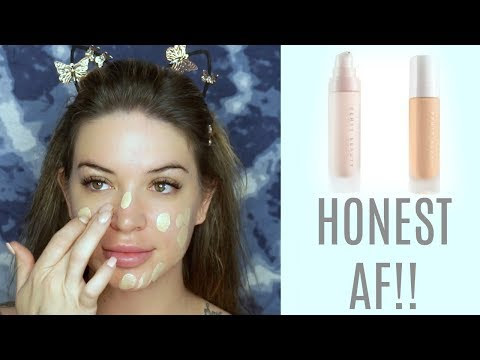 FENTY BEAUTY FOUNDATION + PRIMER REVIEW / foundation Friday
