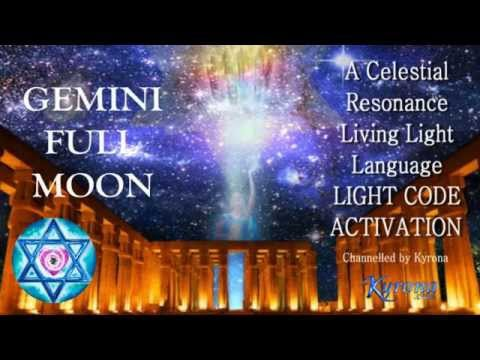 Gemini Full Moon Activation