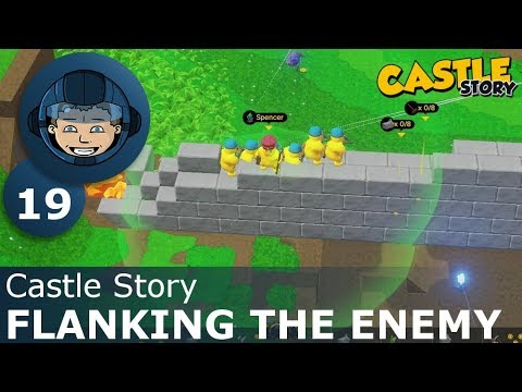 FLANKING THE ENEMY - Castle Story: Ep. #19 - Gameplay & Walkthrough