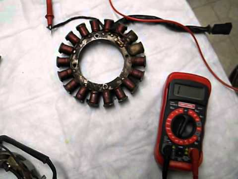 HOW TO TEST YOUR 10 AND 20 AMP TECUMSEH STATOR ALTERNATOR CHARGER