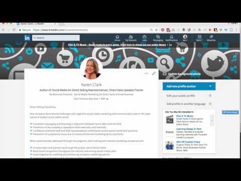 LinkedIn Marketing: Improve and Update Your LinkedIn Profile with Flair Emoji (Karen Clark)