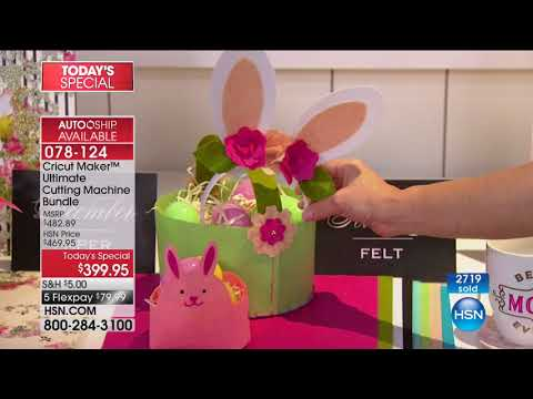 HSN | Cricut Crafting featuring Anna Griffin 10.03.2017 - 12 AM