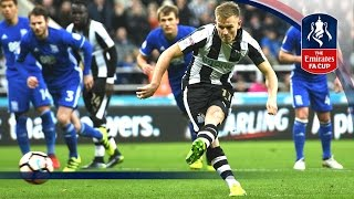 Newcastle United 3-1 Birmingham City (Replay) Emirates FA Cup 2016/17 (R3) | Goals & Highlights