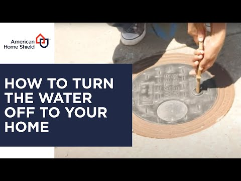 Plumbing Repair - How To Shut Off Water At The Street Meter - American Home Shield