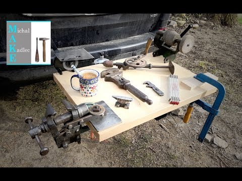 Tow ball mounted WORKBENCH build