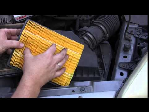 Easy Way to Replace Your Engine Air Filter