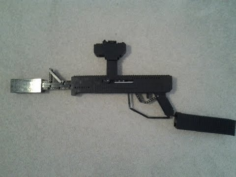 Lego Paintball Gun (WORKING)