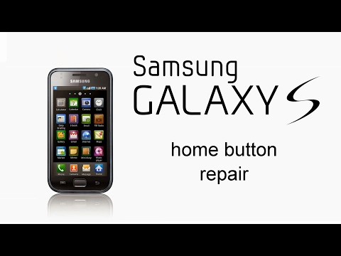 Samsung Galaxy S i9000 - Home Button Repair