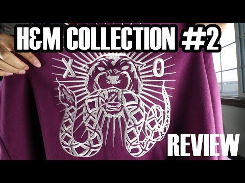 The Weeknd XO H&M Collection 2 Review + On Body