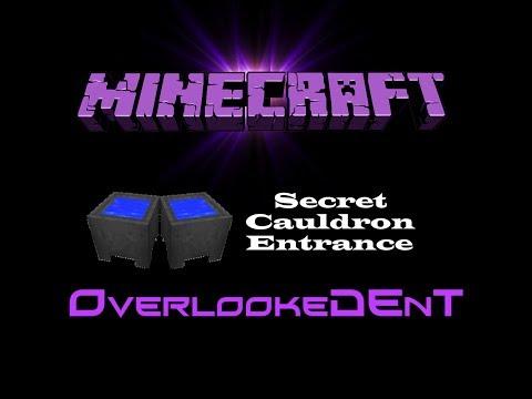 Secret Cauldron Entrance - Minecraft Xbox 360/PS3 - [Tutorial]