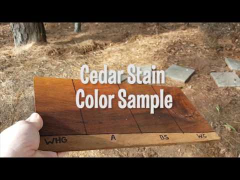 Cedar Shake & Shingle Stain Sample
