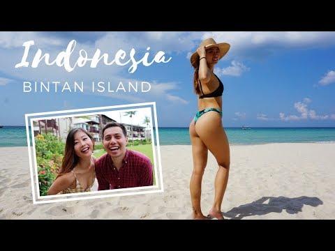 INDONESIA VLOG WITH BOYFRIEND: BEST WEEKEND GETAWAY FOR LAZY FITNESS PEOPLE! (Bintan Island)