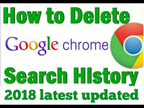 How to clear google search history on Android phone ! 2018 Latest update !