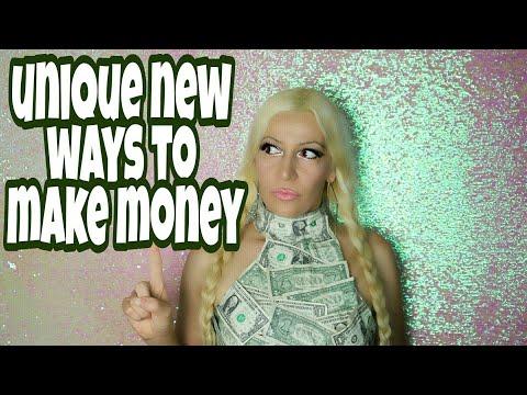 Weird New Ways To Make Money Online & Offline | Unusual Home Jobs For Easy Money
