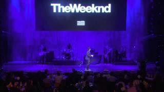The Weeknd  Earned It Pregrammy Live