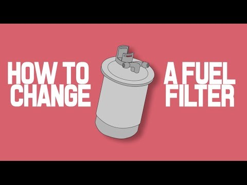 How to change a fuel filter TDI Diesel Engine