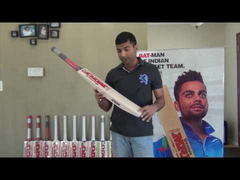 MRF Limited Edition Cricket Bat - Virat Kohli
