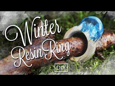 Secret Wood Ring - Winter