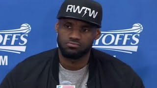 Lebron James Reacts To Kyrie Irving Wanting To Leave Cavs