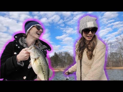 Pregnant Wife Fishing Challenge