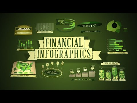 Financial Infographics After Effects template