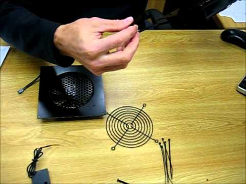 Coolerguys PRO-Metal Series Single 120mm Cooling Kit Cabcool1201-M