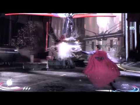 Injustice Gods Among Us - Flash (New 52) VS Superman (New 52)